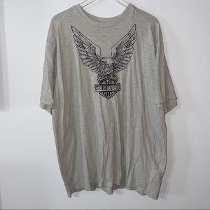 Harley-Davidson Embroidered Eagle T-Shirt